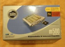 Palm m500 Handheld PDA w/ Box Extra Stylus, Hot Sync Cradle, Accessories
