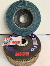 United Abrasives- SAIT 78151 Ovation Flap Disc 120 Grit 7-Inch by 5//8-11-Inch 10-Pack