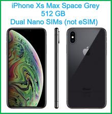 Nuevo Apple iPhone Xs Max 512GB 6.5 pulgadas Doble Sim Desbloqueado-Gris-Apple Garantía