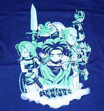 """Chrono Rings"" SNES Chrono Trigger Janus Frog Lucca Women's Small Shirt Theyetee"