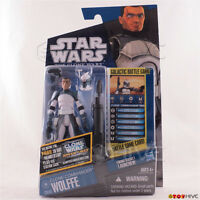 Star Wars Animated Clone Wars 2011 Clone Comander Wolffe CW48 action figure