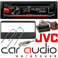 Ford Transit 96-05 JVC Car Stereo CD MP3 Radio USB Aux Player RED Display Kit