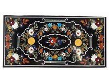 "60"" x 36"" Inlay Work Art Pietra dura Handmade Marble Table Top"