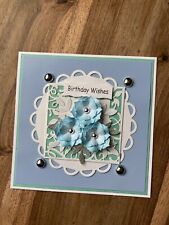 BEAUTIFUL HANDMADE 3D HAPPY BIRTHDAY CARD TOPPER!