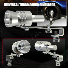Universal Fake Turbo Sound Exhaust Whistle Blow off Valve Simulator Whistler Xl
