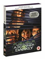 a Scanner Darkly UK Region 2 B Blu Ray DVD Premium Collection Slipcover Reeves