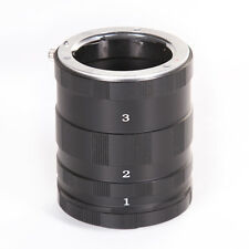 Macro Extension Tube Ring For Micro M4/3 Panasonic Lumix Olympus OM-D GH4 EPL6