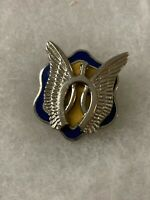 Authentic US Army 17th Cavalry Regiment DI DUI Unit Crest Insignia P23
