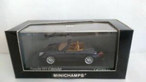 PORSCHE 911 CABRIOLET 2001 MINICHAMPS SCALA 1/43