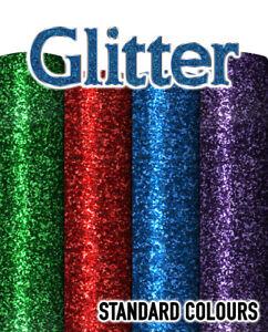 Siser Glitter Flake - Heat Transfer Vinyl - Standard Colours