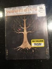 Sealed Snow White & The Huntsman Best Buy Exclusive Blu-Ray + DVD Steelbook Case