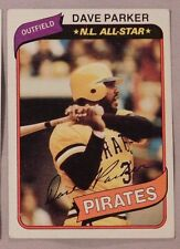 1980 Topps Dave Parker Pittsburgh Pirates #310 Baseball Card nm-mt