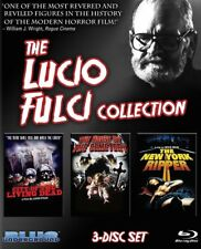 Lucio Fulci Collection GATES OF HELL/HOUSE BY THE CEMETERY/NY RIPPER Giallo GORE