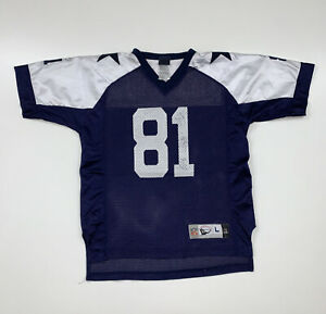Boys Reebok Dallas Cowboys Terrell Owens Jersey Size Youth Large NFL Football