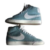 Nike Blazer Mid Vintage Women's Trainers Blue UK Size 4