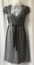 Jacqui E Size 10 Dress Cap Sleeve Corporate Work Dinner Evening Occasion