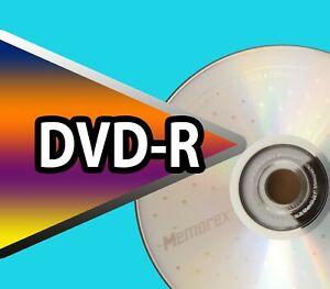 18x single Memorex DVD-R Blank Recordable Discs 4.7GB 120MIN 1-16x