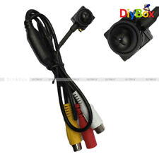 800TVL HD CCTV Wired Covert Screw Pinhole Mini CMOS Camera Home Security Spy Cam