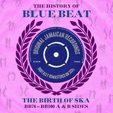 HISTORY OF BLUE BEAT-THE BIRTH OF SKA-- 3 CD NEU DERRICK MORGAN/BELL´S GROUP/