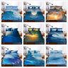 3D Surf Sea Wave Ocean Duvet Cover Bedding Set Quilt/Comforter Cover Pillowcase