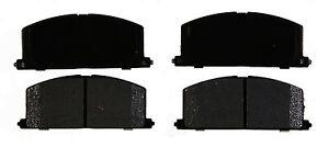 Disc Brake Pad Set-Ceramic Disc Brake Pad Front ACDelco Advantage 14D242CH
