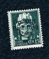 1943 Italy Deutsche Besetzung Zara  Overprint Mint Stamp,Gum