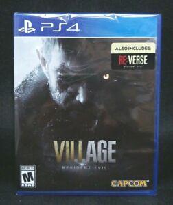 Resident Evil  VIII (8) Village (PS4) BRAND NEW / Region Free