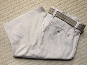 NWT~MENS NBN GEAR SHORTS SIZE 38 COTTON BLEND WITH BELT S-107