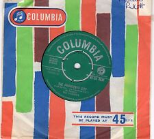 THE SHADOWS...THE FRIGHTENED CITY...COLUMBIA..UK..45