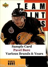Pavel Bure | HOF | LOT x1 | Various Brands & Years | U Pick