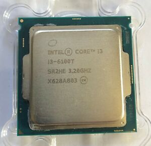 Intel® Core™ i3-6100T, 6th Gen, Dual Core, 3.2GHz with 3MB Cache, LGA1151 #001