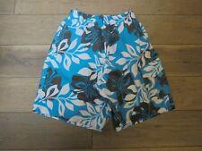 Speedo aqua Hawaiian swim trunk swimming spring bathing suit shorts size M