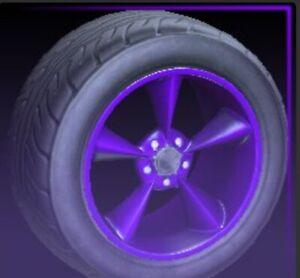 Purple Stern Very Rare Wheels Rocket League Ps4