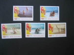 NEW ZEALAND NHM SET-2010 CENTENARY OF SURF LIFE SAVING SG 3247/51