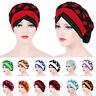 Muslim Women Hijab Cap Turban Cover Wrap Braid Scarf Islamic Headwrap Hat Chemo
