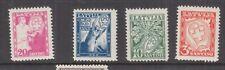 LATVIA, 1936 White Cross Fund set of 4, mnh./lhm.