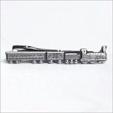 Train Unique Tie Clasps & Tacks RooZee Tie Clip Tie Bar Tie Pin Made in Japan