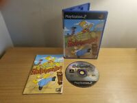 PLAYSTATION 2 - PS2 - THE SIMPSONS SKATEBOARDING - COMPLETE WITH MANUAL FREE P&P