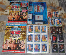Slam Attax WWE Mayhem complete set 224 Cards + all 6 LE cards + 4 auto cards