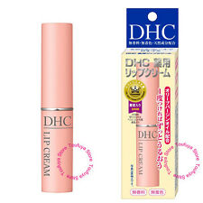 New Dhc Medicated Lip Cream With Emollients Long Lasting Moisture With Olive Oil