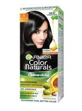Garnier Color Naturals 1Natural Black Crème Riche No Ammonia Hair Color 35ml+30g