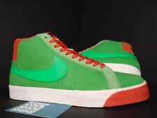 2009 Nike Dunk BLAZER PREMIUM SB GREEN SPARK LIME PIMENTO RED WHITE 314070-331 9