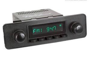 For Opel Kadett C Youngtimer Vintage Car Radio DAB+ UKW USB Bluetooth Aux