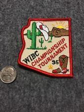 Vintage Wibc Las Vegas 1995 Championship Bowling Patch Mint