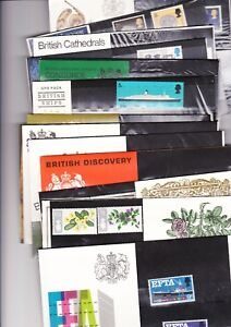 ** 1967 - 1971 PRESENTATIONS PACKS ORIGINAL WRAPPING MULTIPLE LISTING FREE P&P**