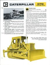 Equipment Brochure - Caterpillar - D7G - Track-Type Tractor - c1974 (E4436)
