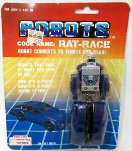 Four Star Robots Rat-Race 1985 Transforming Robot New Sealed