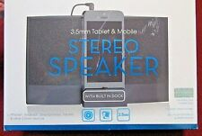 New listing Nip Stereo Speaker For 3.5mm Tablet & Mobile Devices By Hype