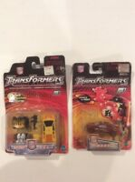 Transformers Robots in Disguise  LOT .Hot Shot & R.E.V. 2 pack sealed & w.a.r.s.
