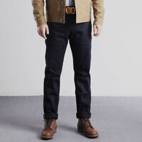 Red Wind Military Officer Chino Vintage 14oz Selvage Denim Slim Tapered Jeans